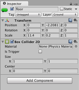 Collision not triggered by box collider - Unity Answers