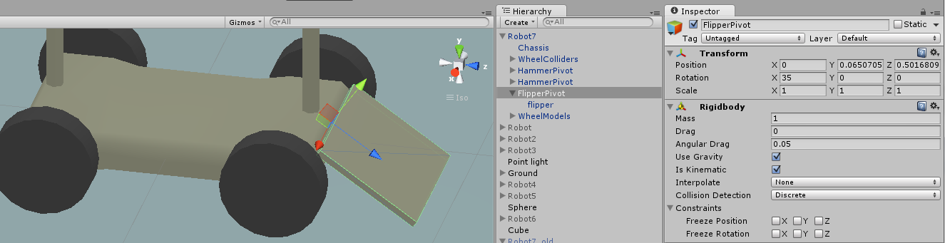 rigidbody MoveRotation, Quaternions, local axis help - Unity