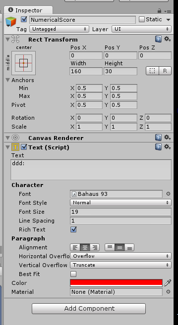 How to access Text(script) component in Unity? - Unity Answers
