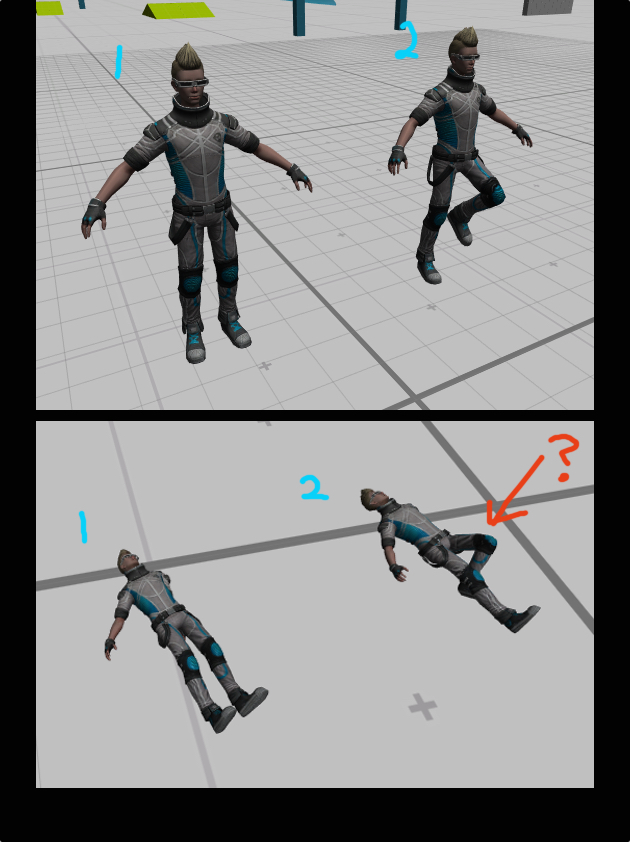 Unity Bug? Character joints NOT working after simple manual