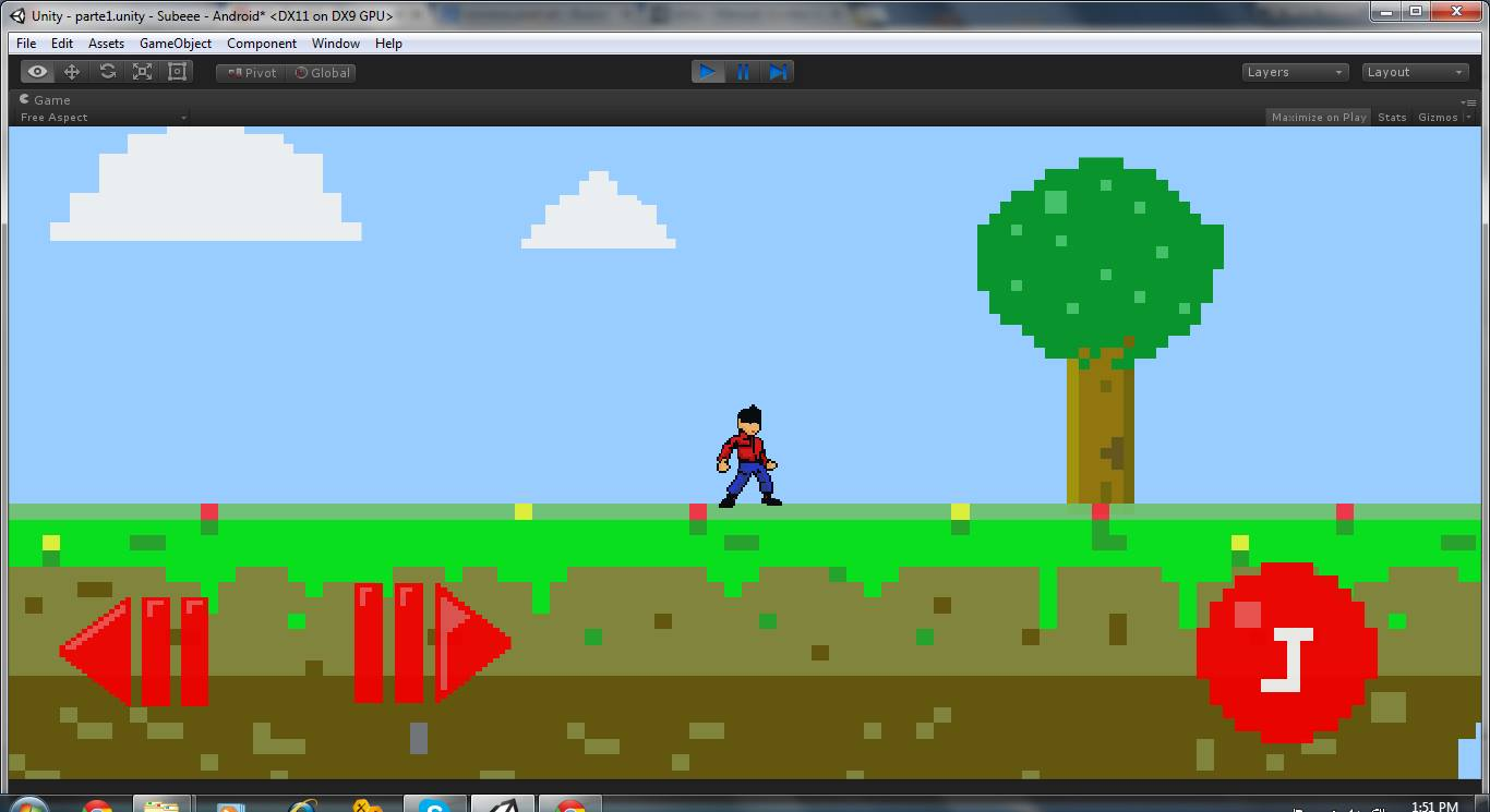 Problem graphics 2d Pixel art Android build game  - Unity