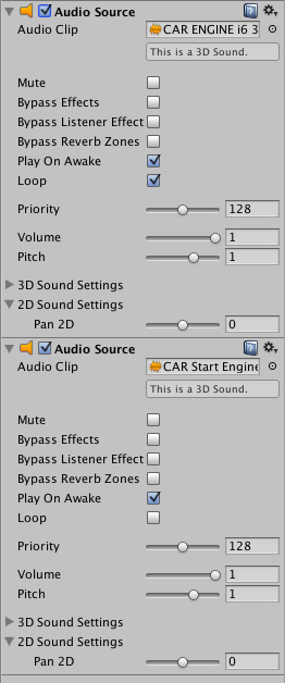 How to play an audio file after another finishes - Unity Answers
