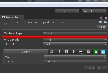 Hardware Cursor works on editor but not on build - Unity Answers