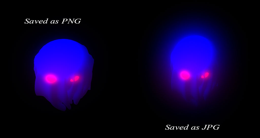 how to get the same glow effect when saving png maya unity answers