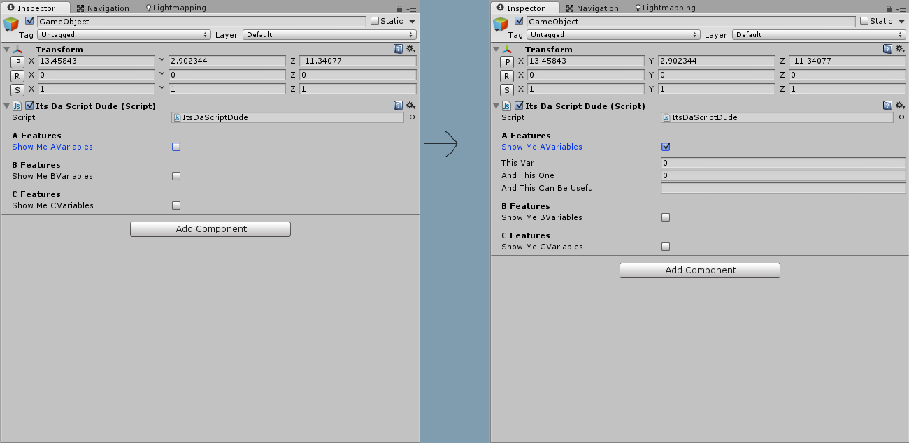 Custom Editor - Show Variable if Boolean is True  - Unity