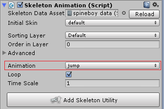 How call a animation in Unity by a Javascript?