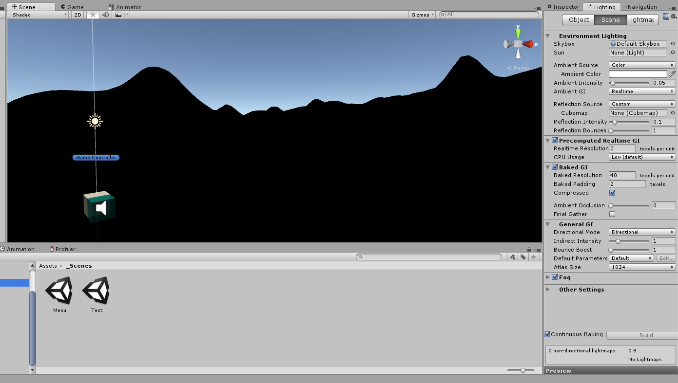 Terrain is entirely black in editor - Unity Answers