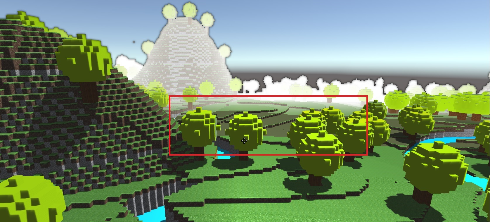 Graphic issue in voxel map   Unity Answers