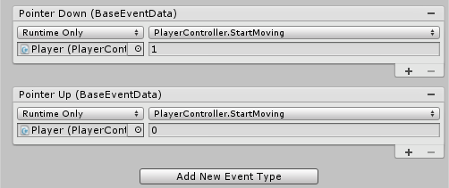 Unity Event Trigger Not Working
