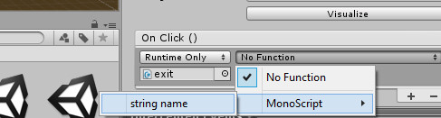 How do I make an exit game button C# - Unity Answers