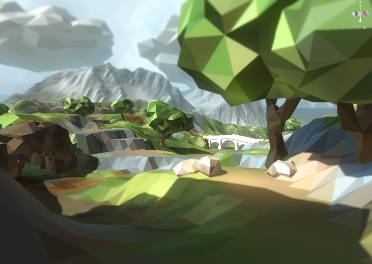 How to make low poly terrain free unity answers wip11g baditri Choice Image