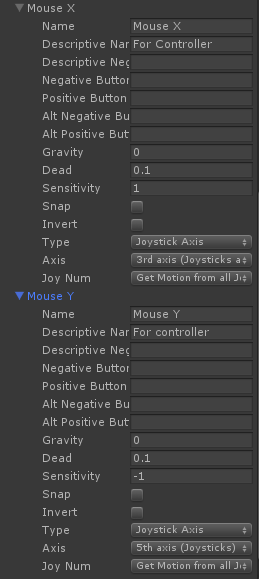 How to rotate camera in FPS with joystick - Unity Answers