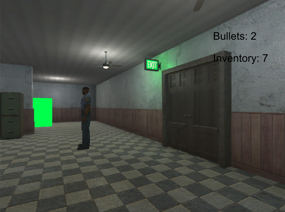 Using alpha layers similar to early Resident Evil games - Unity Answers