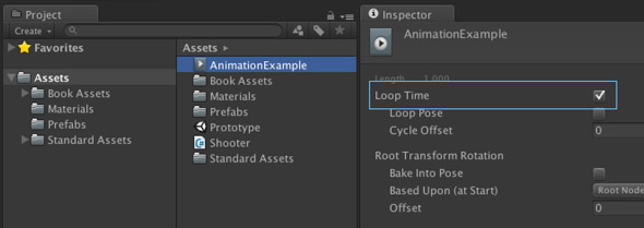 How to make a 2d animation repeat - Unity Answers