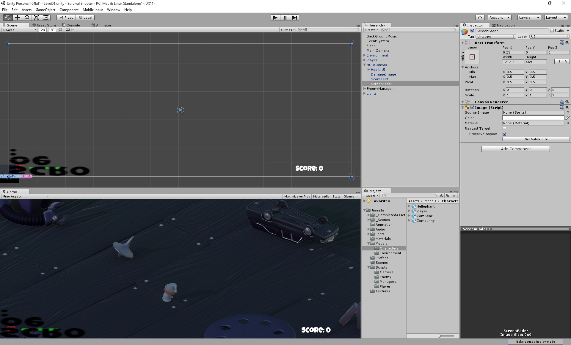 strange bug ui image unity answers any ideas is this this a bug or is there something that i have done wrong it is only a ui image rect transform canvas renderer and image script