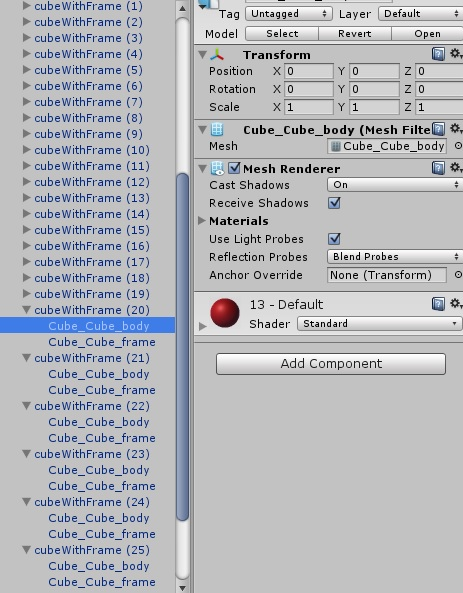 How to combine multiple objects into one object - Unity Answers