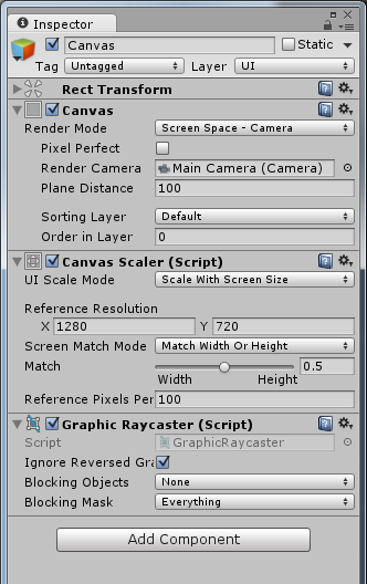Canvas is scaling in the editor but not in the build - Unity