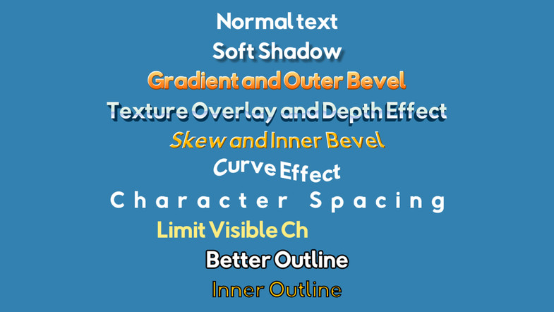 3d Text Drop shadow - Unity Answers