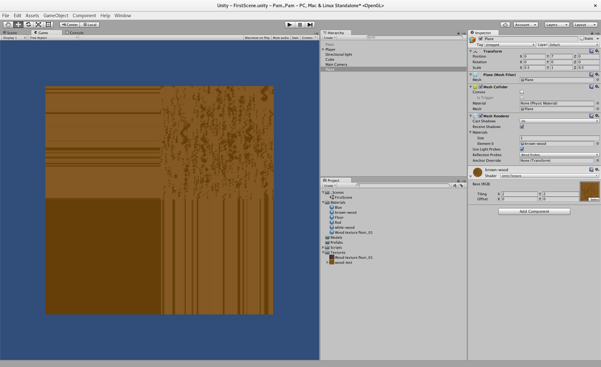 Tiling texture gets weird - Unity Answers