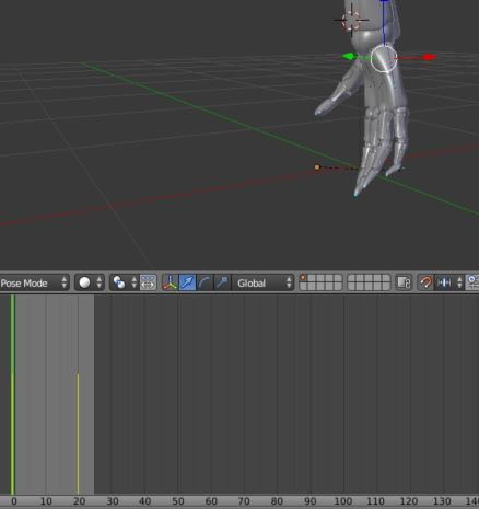 Imported .fbx start at the end of an animation - Unity Answers