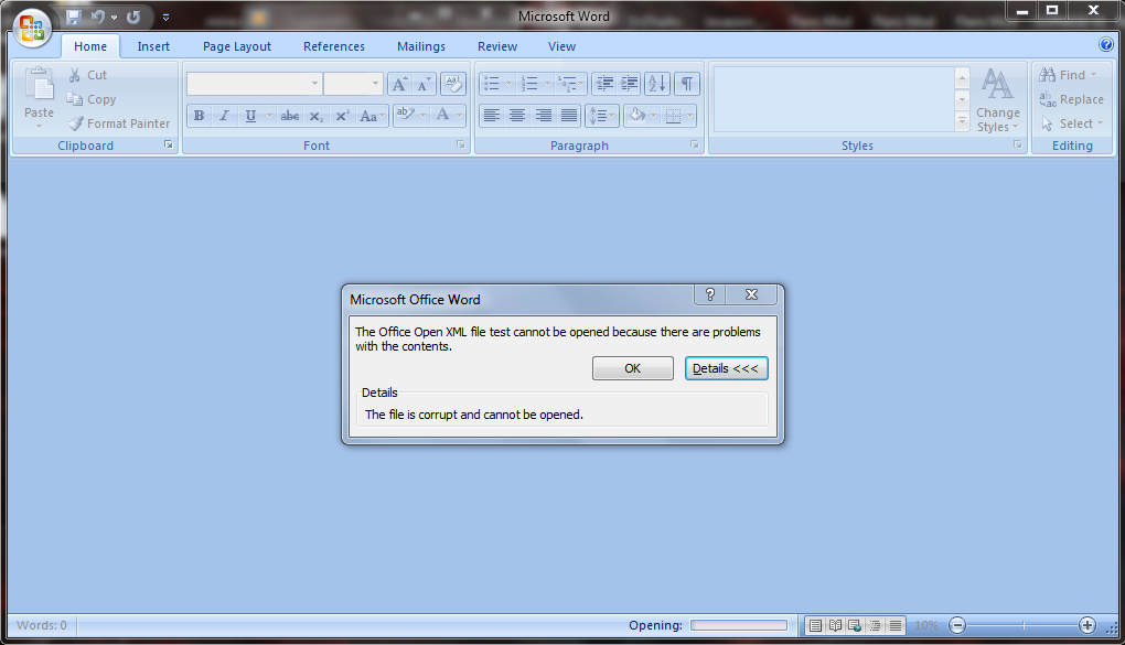 How can i write and read Microsoft Word  docx files using