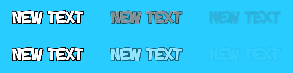 Fading a Text component with Shadow and Outline causes a problem
