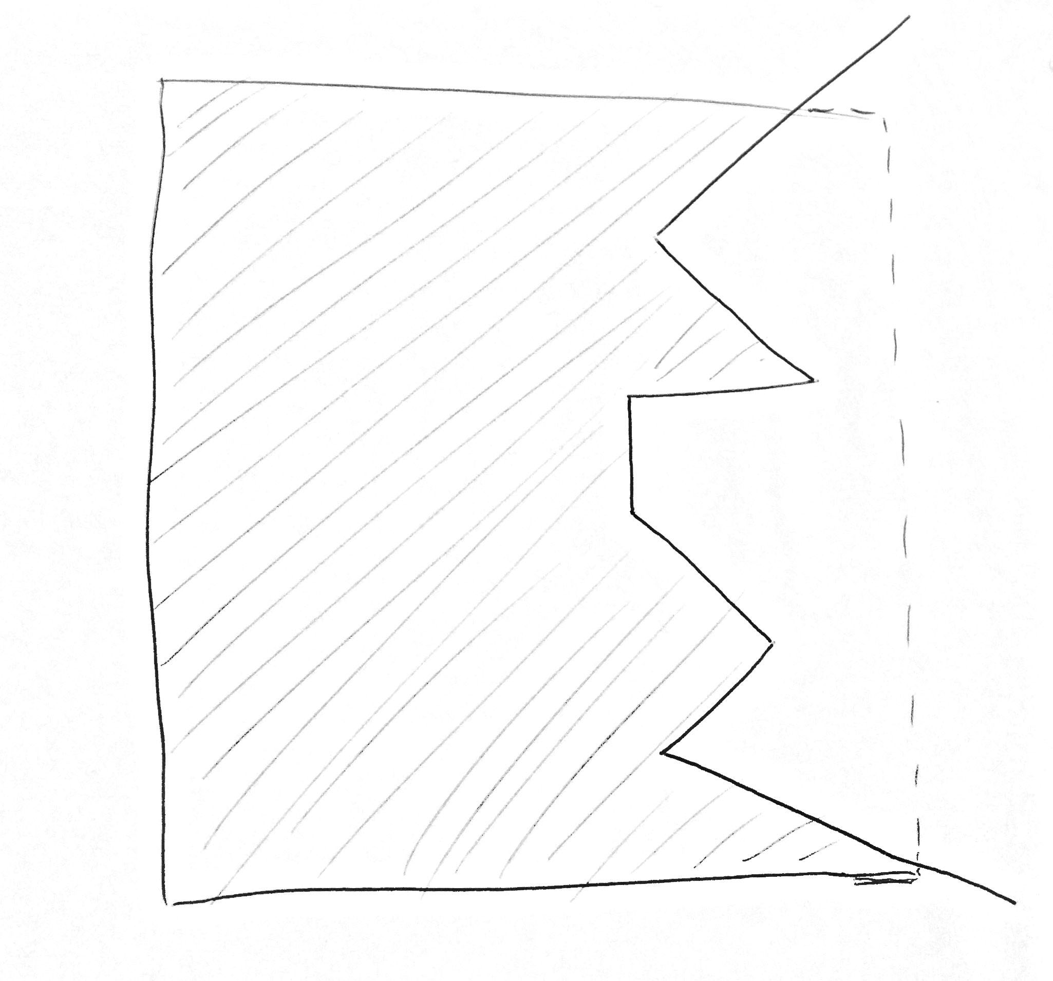 Example Of My Basic Case As Seed From A Side View, I Wan't To Find Out The  Inside Volume Of The Cube: