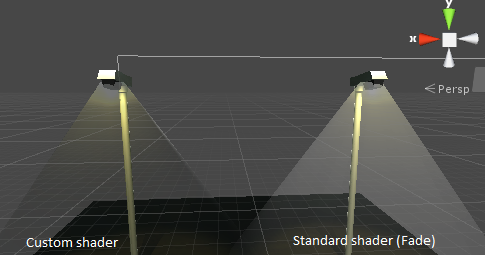 Standard Surface Shader with fade too dark - Unity Answers