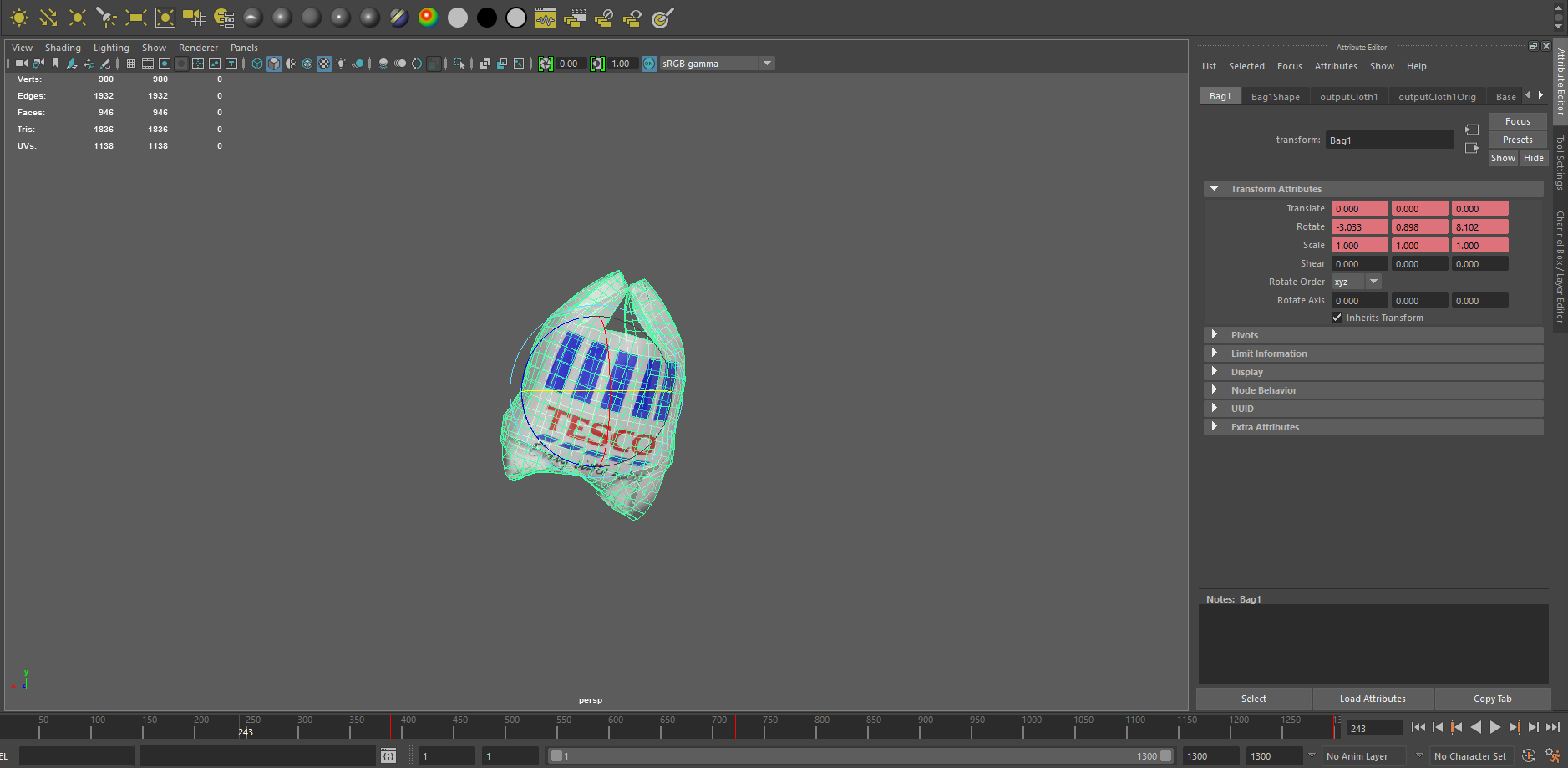 Keyframed blend shapes from Maya importing into Unity as