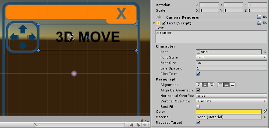 I can't change Text color - Unity Answers