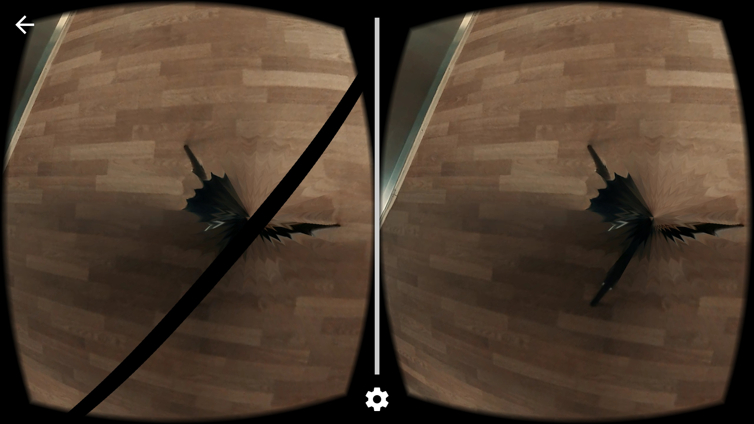 Artifacts while using google vr sdk - Unity Answers