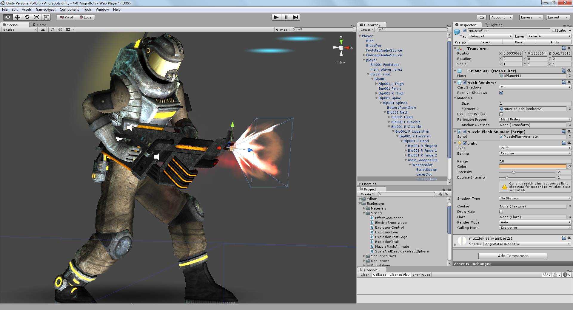 Unity Add Particle Effect To Animation