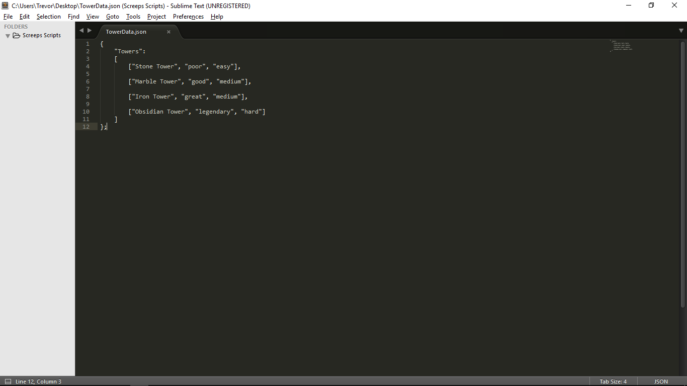 Accessing a Json FILE and using it to set variables - Unity