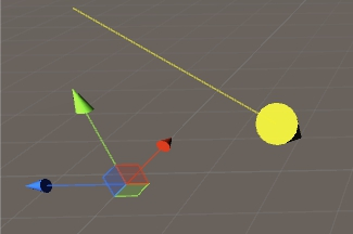 Draw FreeMoveHandle with ArrowCap between two points