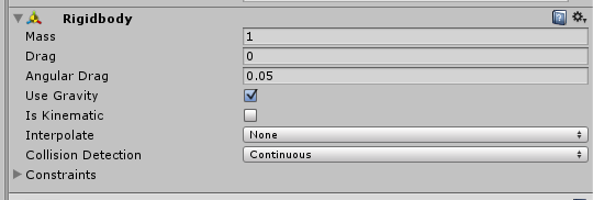 Stopping moving object going through a wall - Unity Answers