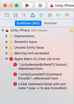 Unity 5 5 0f3 / XCode 8 not building for iOS, app crashes on