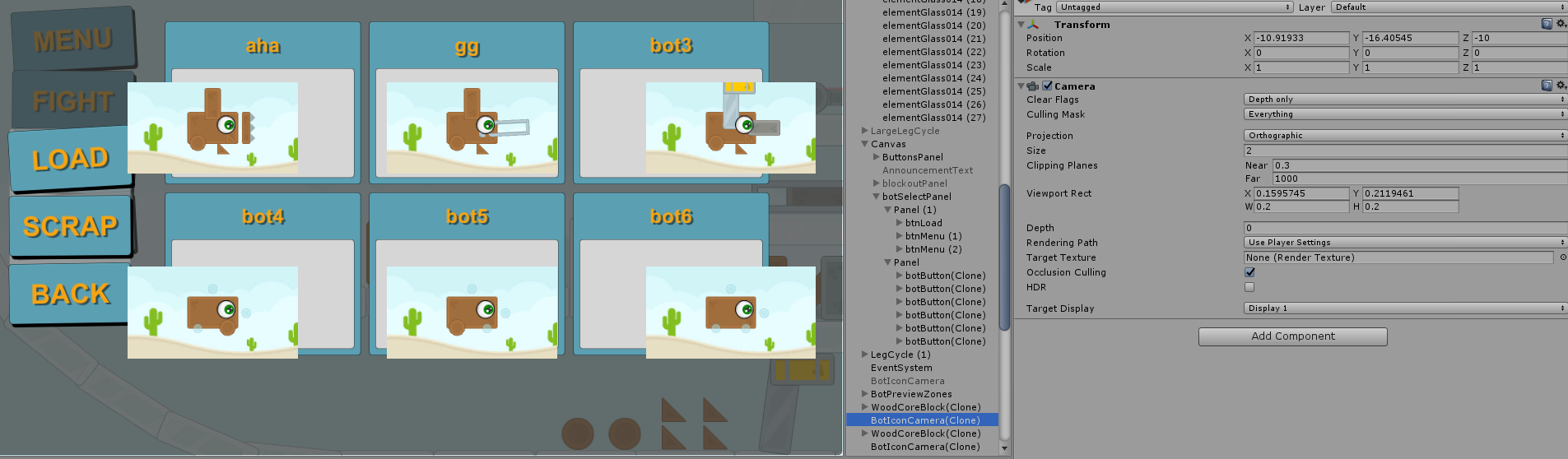 How to fit a camera Viewport Rect to a UI Panel - Unity Answers