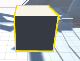 How to make shining highlighted outline to a GameObject modifying