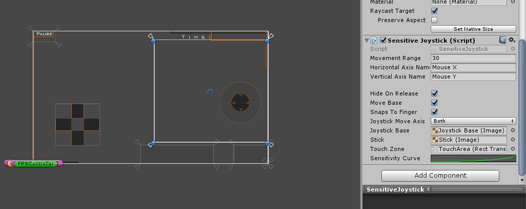 Android Touchpad - Registering touch on whole screen - Unity
