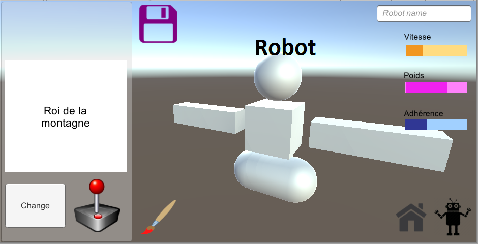 Canvas is hiding my 3D model, can I place the model in front