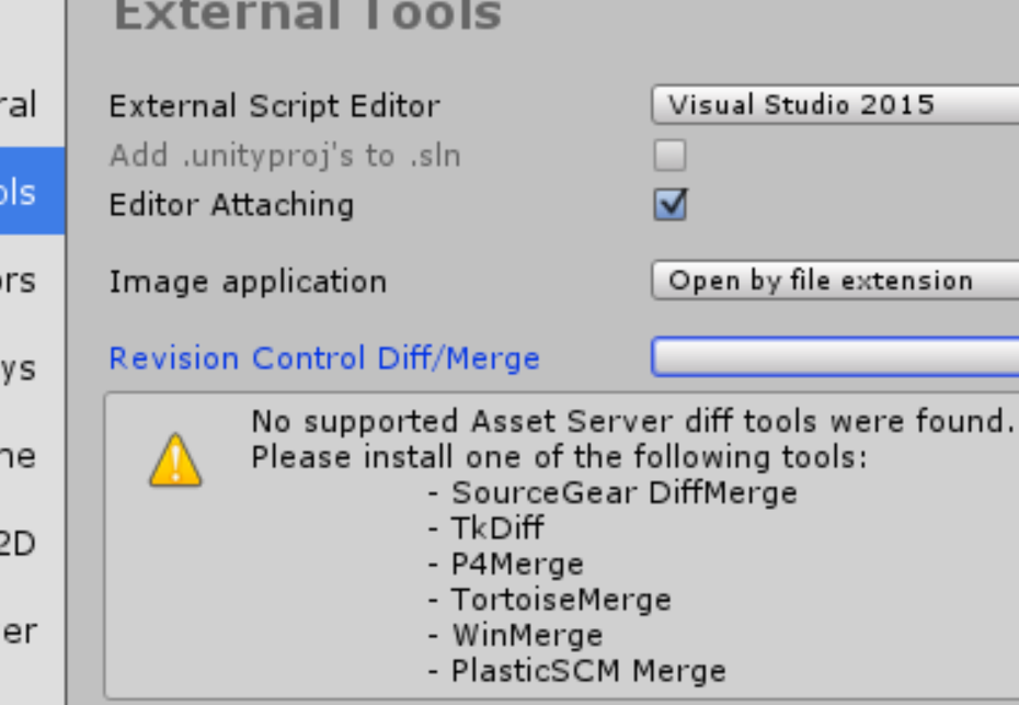 External Tools can't find TortoiseMerge - Unity Answers