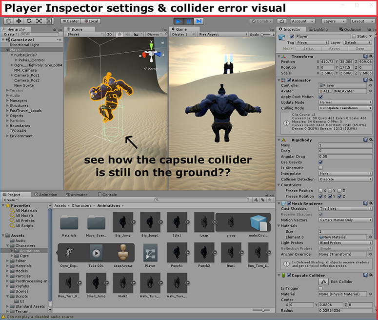 URGENT!!! Colliders don't respond/move with imported Maya