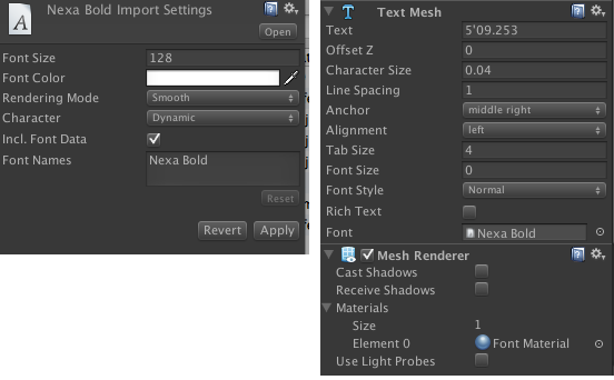 Font doesn't display properly - Unity Answers