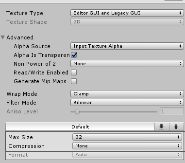 How to fix overly blurred texture / image in unity? - Unity