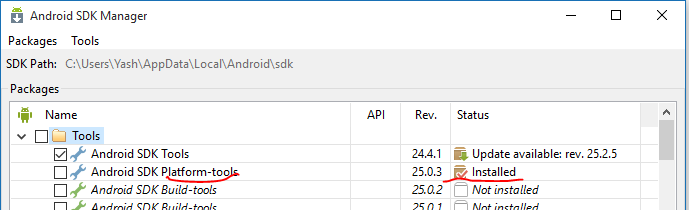 CAN'T SELECT ANDROID SDK ROOT FOLDER - Unity Answers
