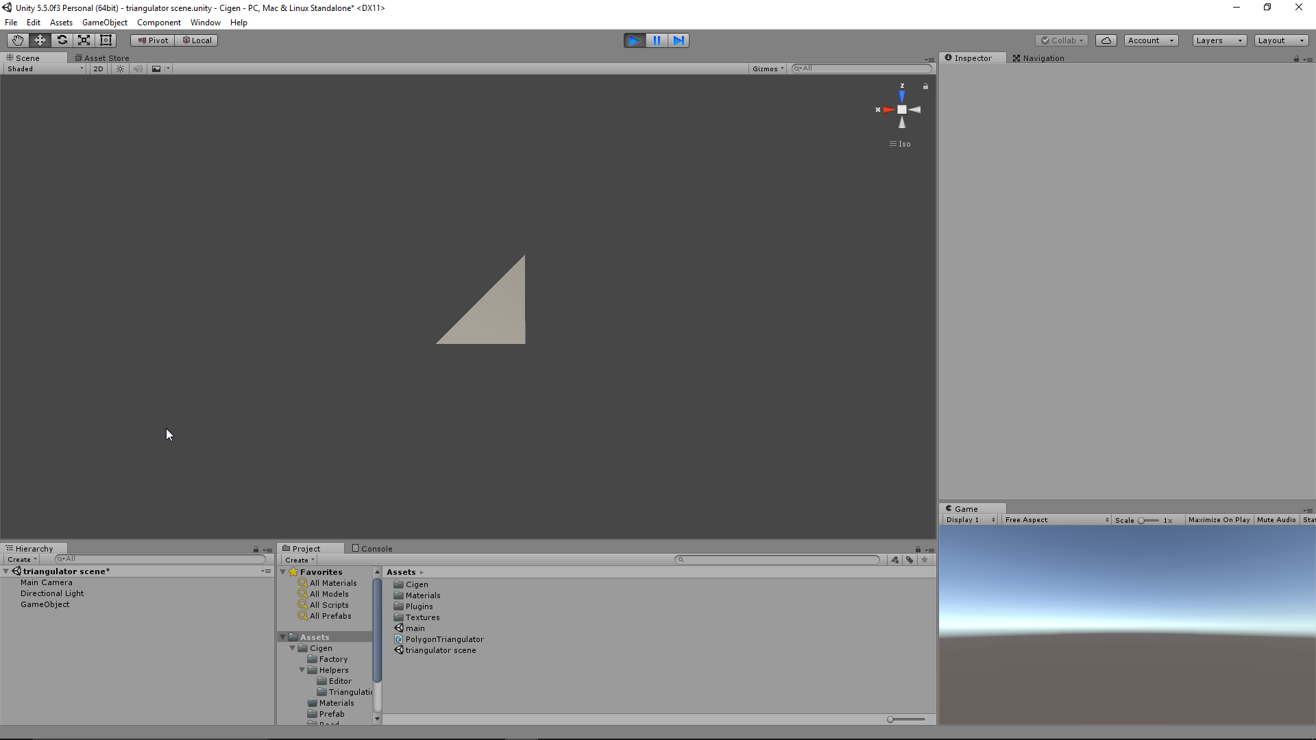Triangulating a 2D polygon with only hull vertices  - Unity