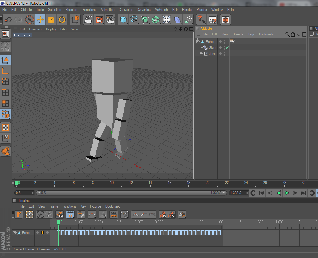 Exporting Cinema4D animation to Unity does not work - Unity