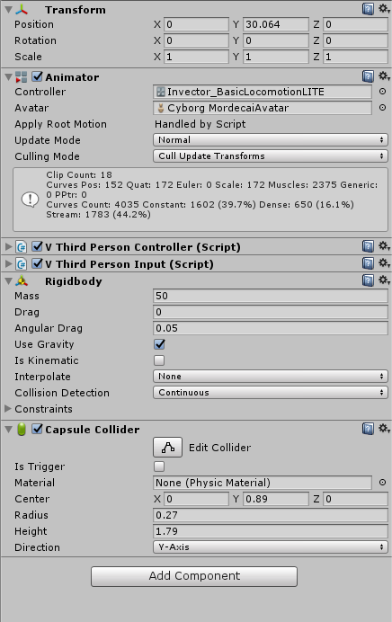 How do I attach another object to my FBX character? - Unity