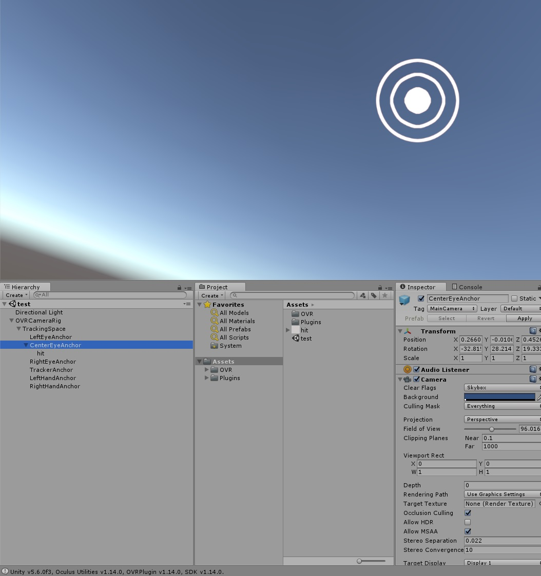 Problem in VR: Object disapper in some angle - Unity Answers