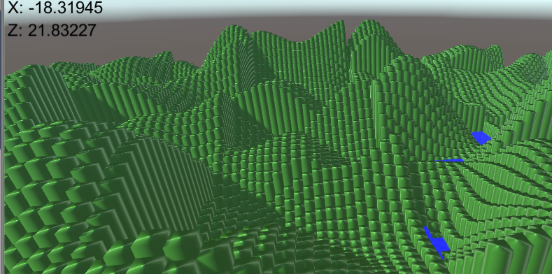 Perlin noise chunks not lining up  C# - Unity Answers